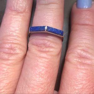 Jewelry - Lápiz Lazuli and Silver Ring🤖